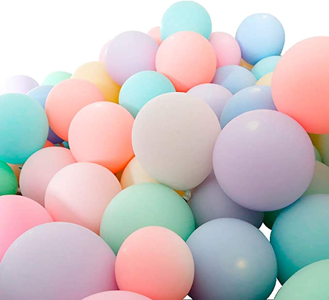 """12"""" Macaron Candy Pastel Latex Balloon Any occasion Party Decor Birthday"""