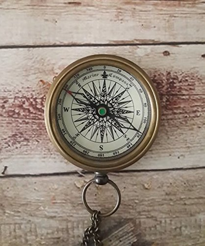 Vintage Mini Compass Set of 100 Units by NAUTICALMART (Image #1)