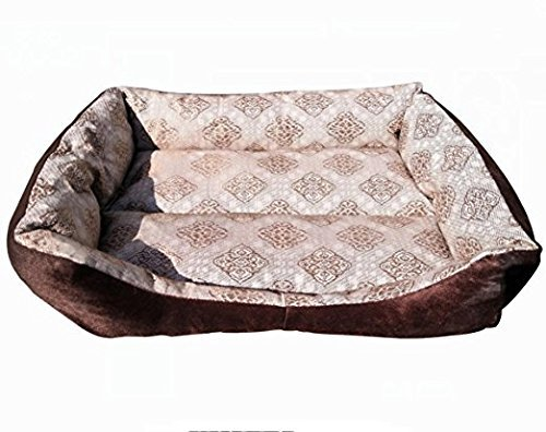 KTROMAN Dog CAT Bed, Dog Beds Dogs Kennels Waterproof Dogs Bed Fit Medium Sized Dog Cat Anti-bite soft Bed Kennels (M) 70 x 50 x 14cm by KTROMAN (Image #3)