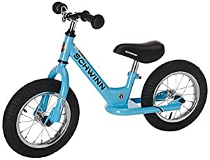 Schwinn Kid's Balance Bike, Blue, 12-Inch