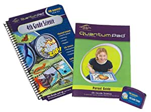 Quantum Pad Learning System: 4th Grade Science Interactive Book and Cartridge