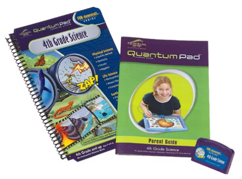 Quantum Pad Learning System: 4th Grade Science Interactive Book and Cartridge by Unknown (Image #2)