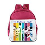 Shehe Big The Bang Boy Knapsack School Size Size Key Pink