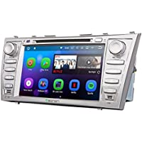 Eonon GA8164 Car Audio Stereo Radio 8 Toyota Aurion Camry Android 7.1 Nougat In Dash Touch Screen Car GPS Navigation, Quad Core 16GB ROM with WiFi Bluetooth Head Unit