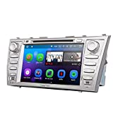 Eonon GA8164 Car Audio Stereo Radio 8'' Toyota Aurion Camry Android 7.1 Nougat In Dash Touch Screen Car GPS Navigation, Quad Core 16GB ROM with WiFi Bluetooth Head Unit