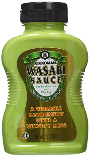 Kikkoman, Wasabi Sauce, 9.25oz Bottle (Pack of 2)