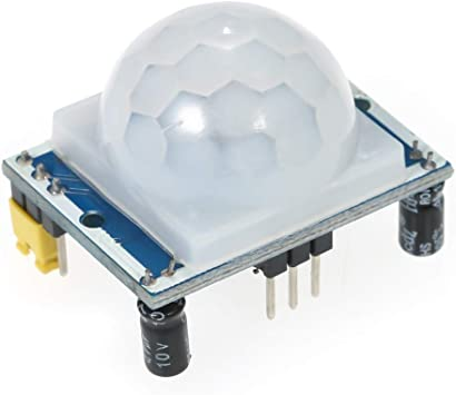 PIR Motion Sensor Detector Module Pyroelectric IR Infrared HC-SR501 Arduino