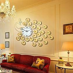 Minimalist European Creativity In Artistic Living Room Wall Clock/ Fashion Bedroom Silent Clock-C 68x50cm(27x20inch)