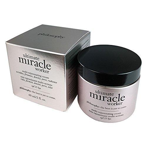 Ultimate Miracle Worker Multi-Rejuvenating Cream SPF 25 Philosophy Cream Unisex 2 oz (Pack of 7)
