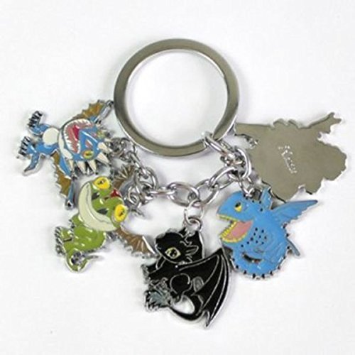 Generic How To Train Your Dragon Toothless Night Fury Keychain