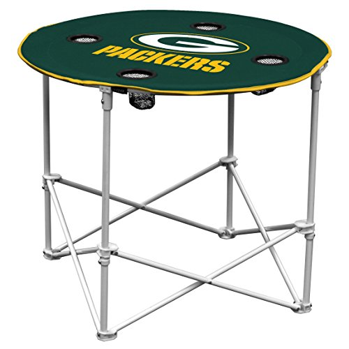 Green Bay Packers Garden (Green Bay Packers  Collapsible Round Table with 4 Cup Holders and Carry Bag)