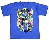 Boys DC Comics Lego Batman Movie Characters Blue Graphic T-Shirt