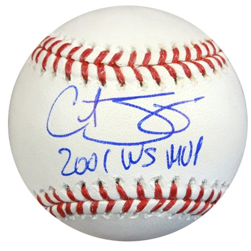 Curt Schilling Autographed/Hand Signed Official MLB Baseball Red Sox, Diamondbacks ''2001 WS MVP'' P