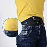 Belly-Band-Holster-for-Concealed-Carry-QGSTAR-Versatile-Neoprene-Tactical-Waist-Band-Hand-Gun-Holder-with-Double-Magazine-pockets-for-Ladies-and-Men