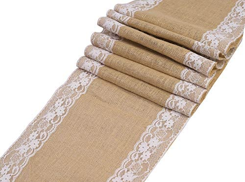 mds Wedding Hessian Natural Decoration product image
