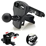 vent assist - ChargerCity Dual Spring Vehicle Air Vent Mount for Garmin Drive Smart Assist Nuvi GPS 40 42 44 50 52 54 55 56 57 57LM 58 65 66 67 67LM 68 2589 2589LMT 22xx 24xx 25xx 26xx 29xx LM LMT LMTHD GPS