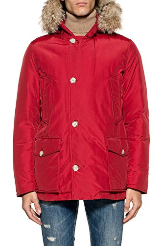 Giacca Uomo Cotone Wocps2586cn03red Outerwear Rosso Woolrich E8dq8