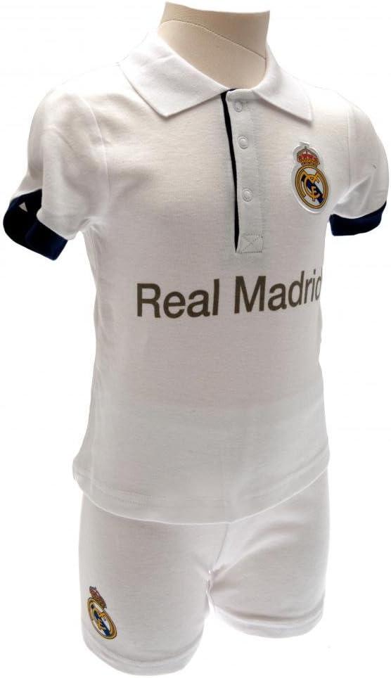 Juego de camiseta y pantalón corto del Real Madrid para bebés, 2 ...