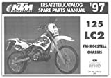 320413 1997 KTM 125 LC2 Chassis Spare Parts Manual