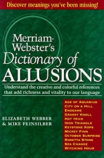 Amazon com: The Oxford Dictionary of Allusions (9780198600312