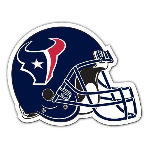 NFL Houston Texans 12-Inch Vinyl Helmet Magnet