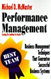 Performance Management, Michael McMaster, 1555520413