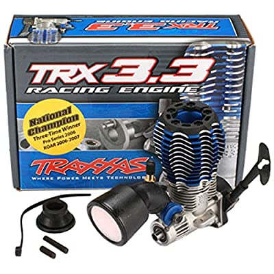 Traxxas 5409 TRX 3.3 Engine Multi-Shaft with Recoil Starter: Toys & Games