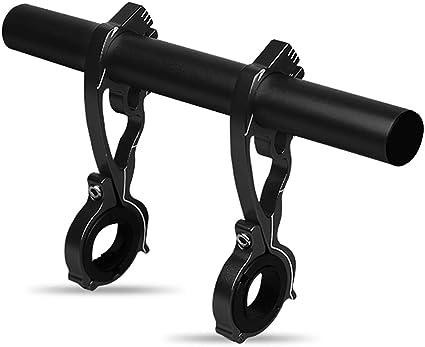 Bike Flashlight Holder Handlebar Bicycle Accessories Extender Mount Bracket HO