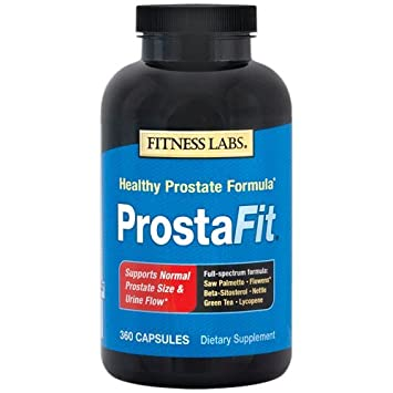 Fitness Labs ProstaFit with Saw Palmetto, Flowens , Beta Sitosterol, Nettle, Green Tea and Lycopene, 360 Capsules