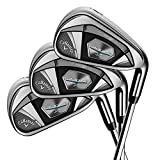 Callaway Golf 2018 Men's Rogue X Irons Set (Set of 6 Total Clubs: 6-PW, AW, Right Hand, Synergy, Regular Flex)