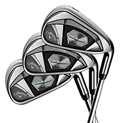 The new Rogue X Irons embody the Rogue philosophy to break away from established protocols to develop new ways to extract maximum performance from a golf club. These irons feature a premium multi-material construction to combine new technolog...