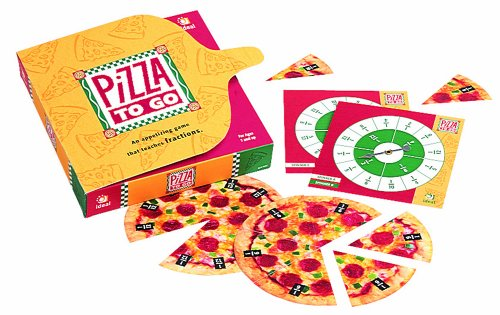 Ideal School Supply Pizza To Go Educational Board Game]()