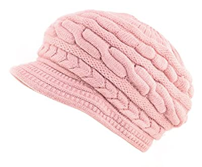 Jemis Peaked Cap Women Hat Winter Caps Knitted Hats for Woman