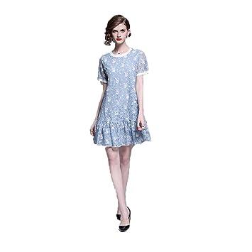66d63c7f67bb Vestidos casuales de verano para mujer Las mujeres de manga corta ...