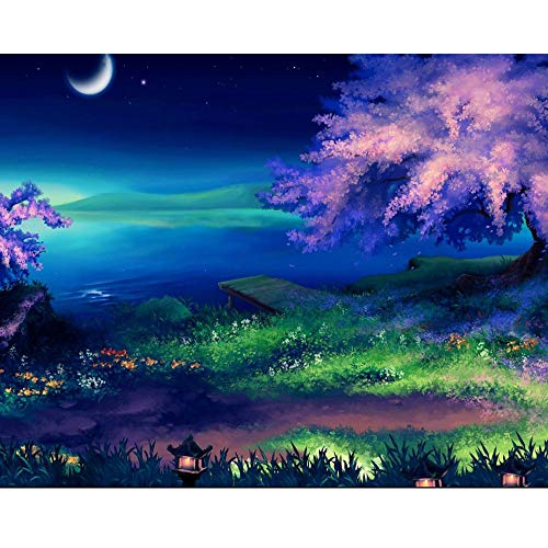 (5D DIY Diamond Painting Accessories Diamond Cross Stitch Kits Embroidery Paintings Rhinestone Pasted Cross Stitch for Adults or Kids 9.8x11.8inch)
