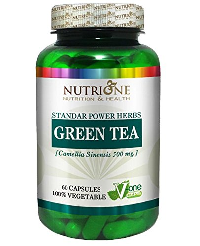 Nutrione extracto de te verde, 60 caps.