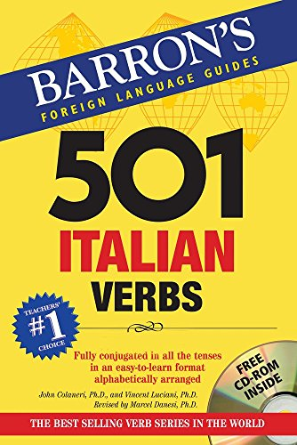 501 Italian Verbs (Barron