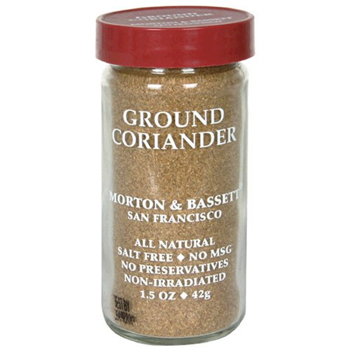 Morton & Bassett Ground Coriandor, 1.5-Ounce Jars (Pack of 3) by Morton & Bassett