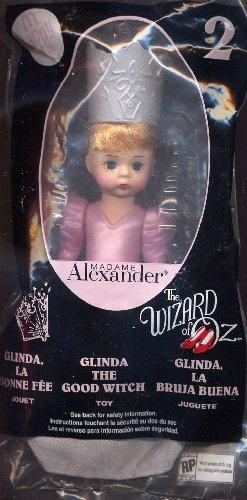 2008 Mcdonalds Madame Alexander Wizard of Oz Doll #2 Glinda the Good Witch