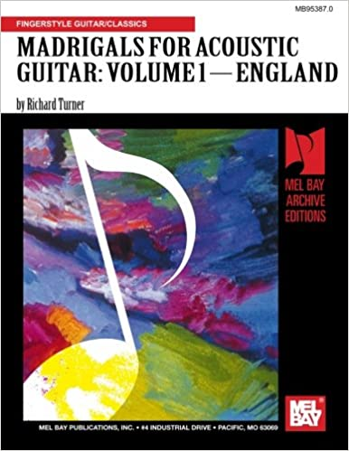 MADRIGALS FOR ACOUSTIC GUITAR/VOLUME 1-ENGLAND