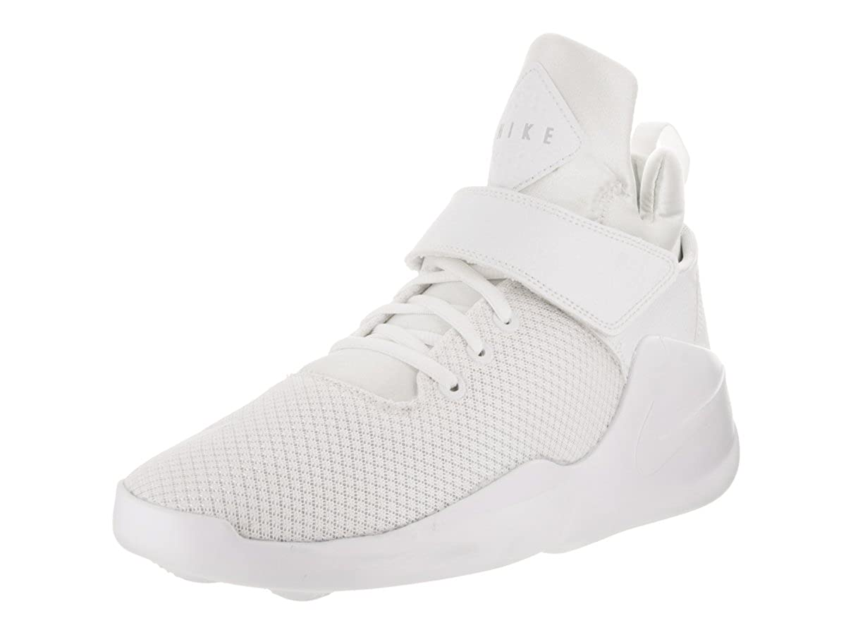 pretty nice 21538 1bf2f Nike Kwazi Mens Hi Top Trainers 844839 Sneakers Shoes (US 11, White Pure  Platinum 100)  Buy Online at Low Prices in India - Amazon.in