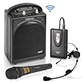 Pyle PWMA200 Compact & Wireless Microphone PA Speaker System