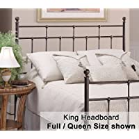Hillsdale Furniture 380-670 Providence Headboard, Antique Bronze