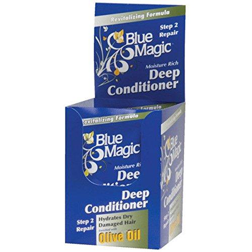 BLUE MAGIC DEEP CONDITIONER OLIVE OIL  1.75 oz ea