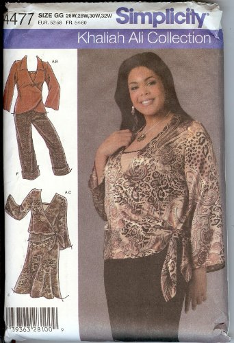 Simplicity 4477 Khaliah Ali Collection ()