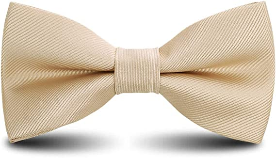 Men's Bow Ties Classic Pre-tied Adjustable for Boy in Gift Box Ties