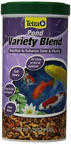 TetraPond 16455 Variety Blend Food, 5.29-Ounce, 1-Liter