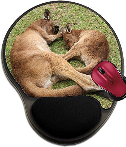 Liili Mousepad wrist protected Mouse Pads/Mat with wrist support design ID: 28979989 Sleeping mother and her joey Ballarat Wildlife Park Victoria - Ballarat Kids
