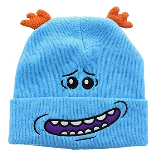 Bioworld Rick and Morty Meeseeks Costume Beanie Cap Hat ()