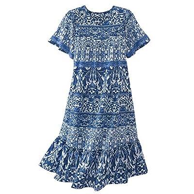 Nice National Printed Cotton cambric Dress